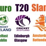 Euro T20 Slam Teams Announcement