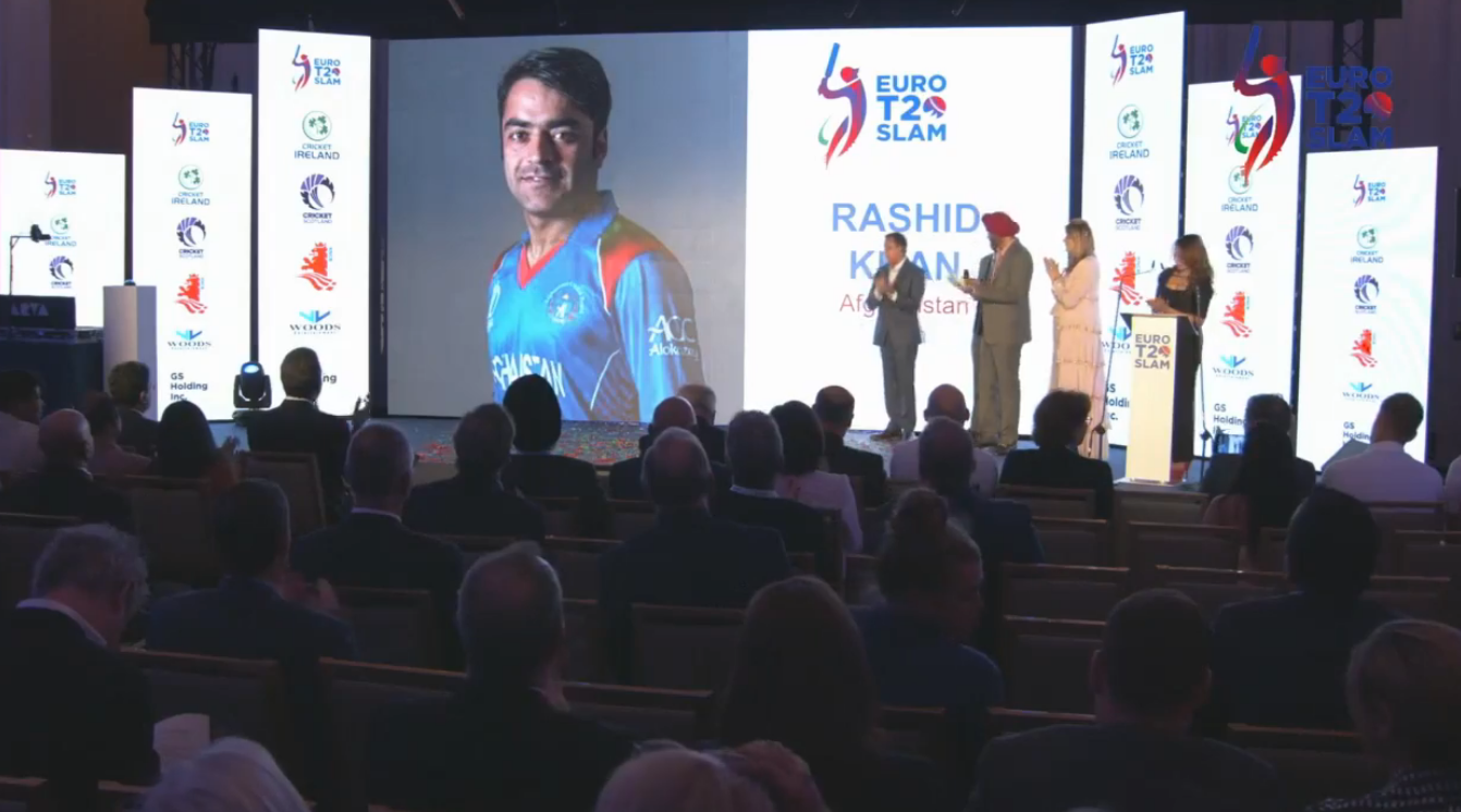 Rashid Khan Icon Player Euro T20 Slam