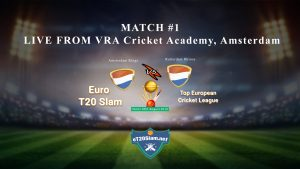 Match 1 Amsterdam Kings vs Rotterdam Rhinos