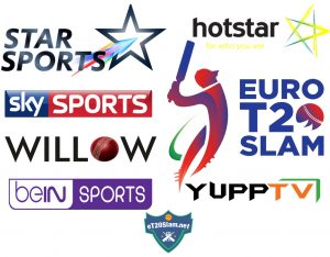 Tv channels broadcasting Euro T20 Slam Live [List]