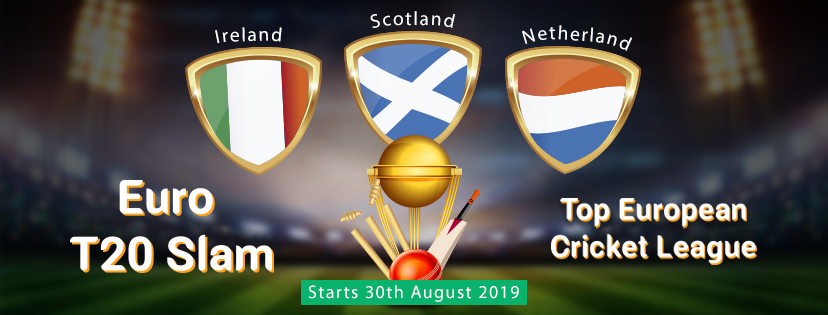 Euro T20 Slam Match Schedule and Squads