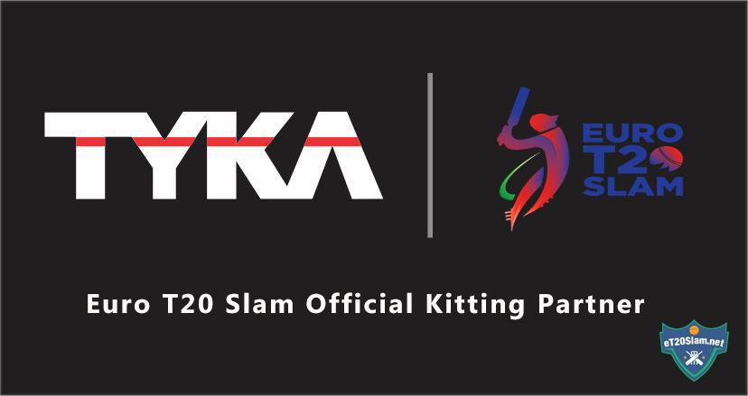 Euro T20 Slam Official Kit Partner Revealed