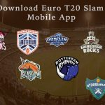 Euro T20 Slam App - Stay On Top of eT20s Live Action