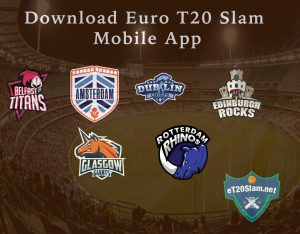 Download Euro T20 Slam app