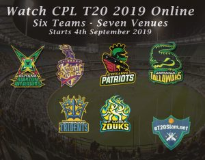 Cpl 2019 Live Streaming Watch Caribbean Premier League