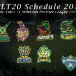 CPLT20 Schedule 2019 | Time Table | Caribbean Premier League 2019 | CPLT20 Schedule 2019 Download