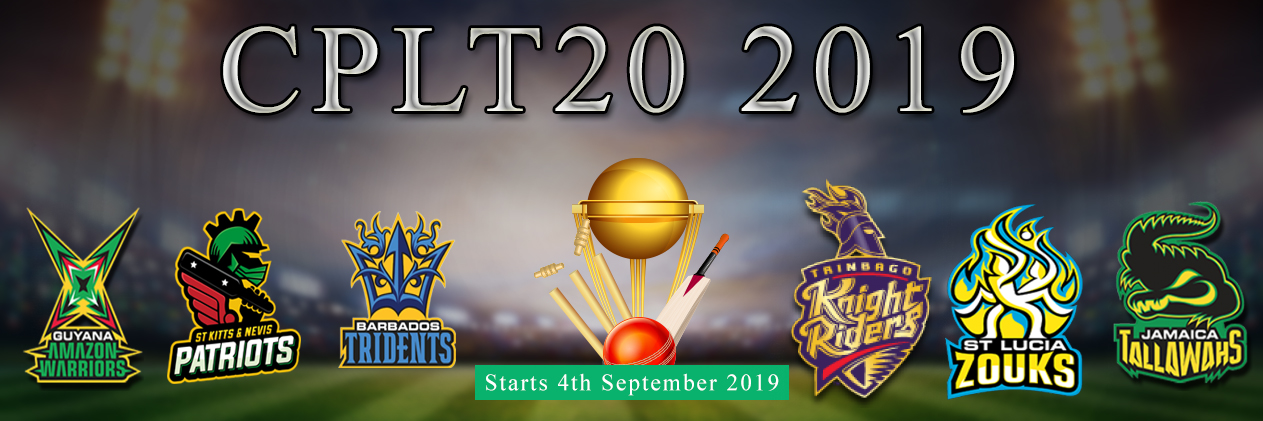 Caribbean Premier League 2019 - CPL T20 2019 Schedule, Teams