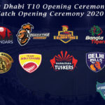 Abu Dhabi T10 Opening Ceremony - Watch Opening Ceremony 2021