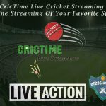 CricTime Live Cricket Streaming - Online Streaming Of Your Favorite Sport
