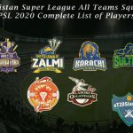 PSL 2020 Squads For November Play-Offs Announced