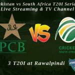 Pakistan vs South Africa T20I Series 2020 Schedule - Live Streaming & TV Channel