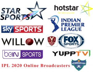 IPL 2020 Online Broadcasters - Live Streaming & TV Channels