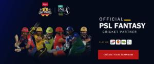 PSL 2021 Official Fantasy Game