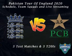 Pakistan Tour Of England 2020 – Schedule, Team Squads and Live Streaming