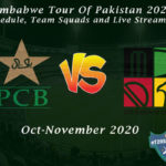 Zimbabwe Tour Of Pakistan 2020 – Schedule, Team Squads and Live Streaming
