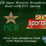 PCB Broadcast Deal with PTV Sports Worth $200 Million