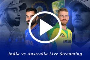 India vs Australia Live Streaming, IND vs AUS Live Telecast,pg