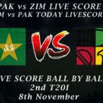 PAK vs ZIM LIVE SCORE, 2nd T20I 2020, Watch PAK vs ZIM 2nd T20I Live