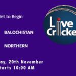 BAL vs NOR Live Score, Match 10, Quaid-e-Azam Trophy, 2020, BAL vs NOR Scorecard Today, BAL vs NOR Lineup