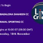 BDS vs RSCC Live Score, Match 30, ECS Barcelona, BDS vs RSCC Scorecard Today, BDS vs RSCC Lineup