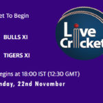 BUL vs TIG Live Score, Match 22, Pondicherry T20 Tournament, 2020, BUL vs TIG Scorecard Today, BUL vs TIG Lineup