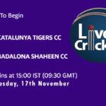 CTT vs BDS Live Score, Match 26, ECS Barcelona, CTT vs BDS Scorecard Today, CTT vs BDS Lineup
