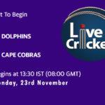 DOL vs COB Live Score, Match 7, 4-Day Franchise Series, 2020/21, DOL vs COB Scorecard Today, DOL vs COB Lineup