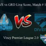 DVE vs GRD Live Score, Match # 15, Vincy Premier T10 League,DVE vs GRD Scorecard Today, DVE vs GRD Lineup