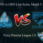 DVE vs GRD Live Score, Match # 3, Vincy Premier T10 League, DVE vs GRD Scorecard Today, DVE vs GRD Lineup