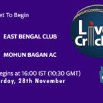 EBC vs MBG Live Score, Bengal T20 Challenge, EBC vs MBG Scorecard Today, EBC vs MBG Lineup