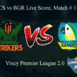 FCS vs BGR Live Score, Match # 11, Vincy Premier T10 League, FCS vs BGR Scorecard Today, FCS vs BGR Lineup