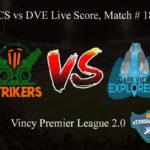 FCS vs DVE Live Score, Match # 18, Vincy Premier T10 League, FCS vs DVE Scorecard Today, FCS vs DVE Lineup