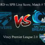 GRD vs SPB Live Score, Match # 7, Vincy Premier T10 League, GRD vs SPB Scorecard Today, GRD vs SPB Lineup
