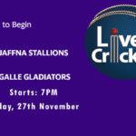 JS vs GG Live Score, Match 2, Lanka Premier League, 2020, JS vs GG Scorecard Today,JS vs GG Lineup