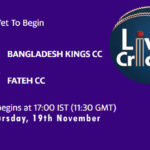 KCC vs FCC Live Score, Match 35, ECS Barcelona, KCC vs FCC Scorecard Today, KCC vs FCC Lineup