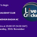 KGT vs MBG Live Score, Bengal T20 Challenge, KGT vs MBG Scorecard Today, KGT vs MBG Lineup