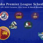 Lanka Premier League Schedule - LPL 2020 Fixtures, Live Score & Match Results