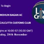 MBG vs CLC Live Score, Bengal T20 Challenge, MBG vs CLC Scorecard Today, MBG vs CLC Lineup