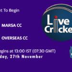 MCC vs OCC Live Score, ECS Malta T10, MCC vs OCC Scorecard Today, MCC vs OCC Lineup