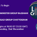 MGR vs GGC Live Score, Bangabandhu T20 Cup, MGR vs GGC Scorecard Today, MGR vs GGC Lineup