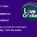 MJCC vs FCC Live Score, Match 23, ECS Barcelona, MJCC vs FCC Scorecard Today, MJCC vs FCC Lineup