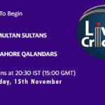 MUL vs LAH Live Score, Eliminator 2, PSL 2020, MUL vs LAH Scorecard Today, MUL vs LAH Lineup