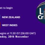 NZ vs WI Live Score 3rd T20I, West Indies tour of New Zealand, 2020, NZ vs WI 3rd T20I Scorecard Today