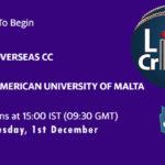 OCC vs AUM Live Score, ECS Malta T10, OCC vs AUM Scorecard Today, OCC vs AUM Lineup