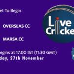 OCC vs MCC Live Score, ECS Malta T10, OCC vs MCC Scorecard Today, OCC vs MCC Lineup