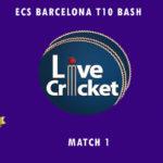 PIC vs CTC Live Score, ECS Barcelona T10 Bash, PIC vs CTC Scorecard Today, PIC vs CTC Lineup