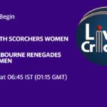 PSW vs MRW Live Score, Match 33, Women's Big Bash League 2020/21, PSW vs MRW Scorecard Today, PSW vs MRW Lineup