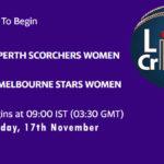 PSW vs MSW Live Score, Match 42, Women's Big Bash League 2020/21, PSW vs MSW Scorecard Today, PSW vs MSW Lineup