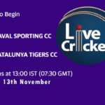 RSCC vs CTT Live Score, Match # 17, ECS Barcelona, RSCC vs CTT Scorecard Today, RSCC vs CTT Lineup