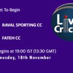 RSCC vs FCC Live Score, Match 32, ECS Barcelona, RSCC vs FCC Scorecard Today, RSCC vs FCC Lineup